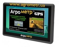 Прибор для замера площади поля Aгpoмeтp