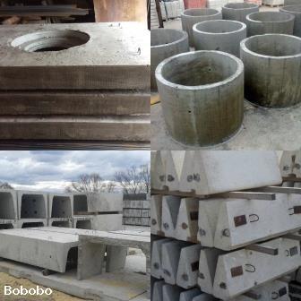 ЖБИ в Сургуте, кольца КС, лотки теплотрасс ЛК, плиты 1п, 2п, плита ПД-6
