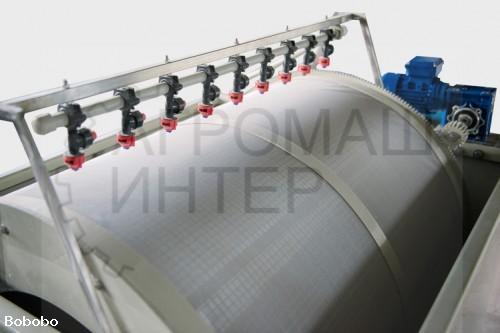 Барабанный механический фильтр 80 м3 в час
